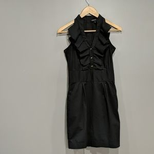 Express design studio black dress